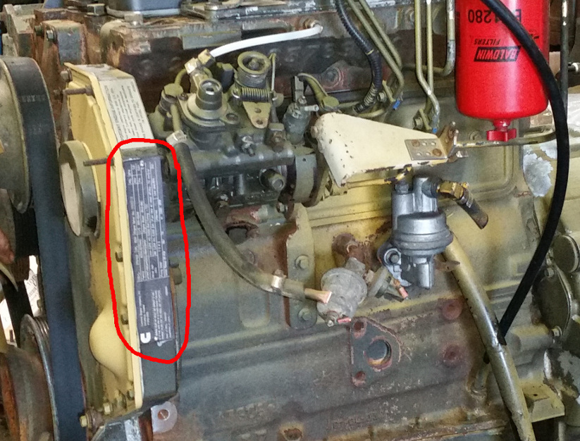 Grindstaff Engines Cummins CPL Number