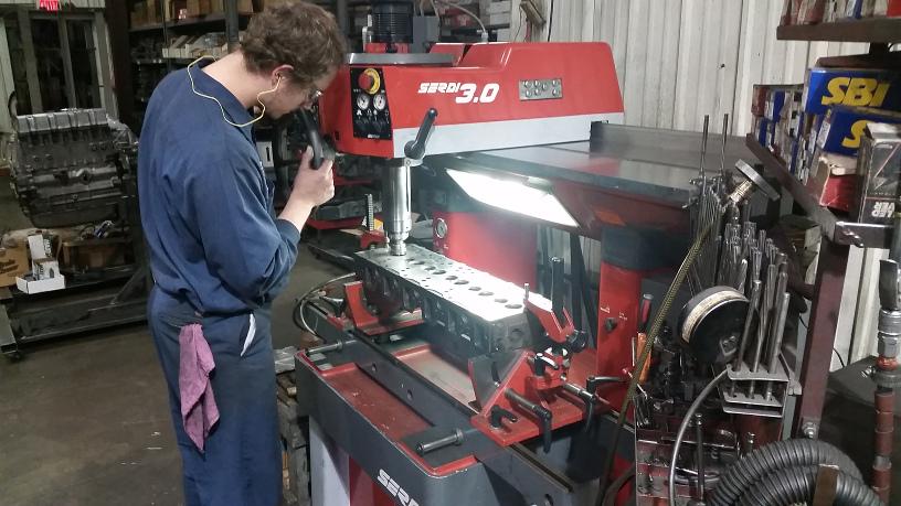 Grindstaff Engines Remanufacturing Process